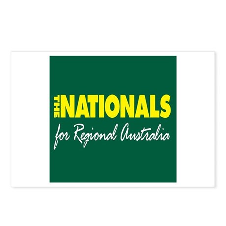 National Party 2013 Postcards (Package of 8)