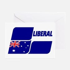 Liberal Party Logo Greeting Cards (Pk of 20)