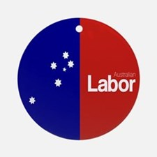 Labor Party Logo Round Ornament