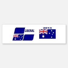 Liberal Party Logo Bumper Bumper Sticker