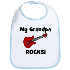 My Grandpa Rocks! (guitar) Bib