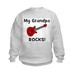 My Grandpa Rocks! (guitar) Kids Sweatshirt