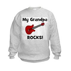 My Grandpa Rocks! (guitar) Sweatshirt