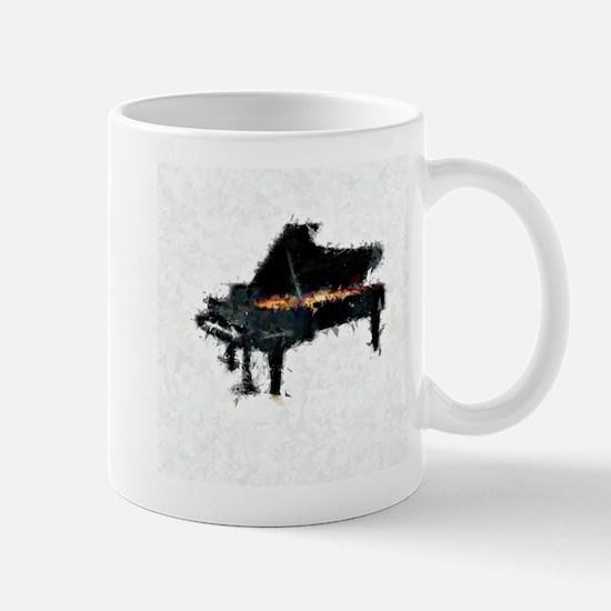 Piano Abstract 1 Mug