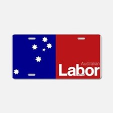 Labor Party Logo Aluminum License Plate