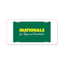 National Party 2013 Aluminum License Plate