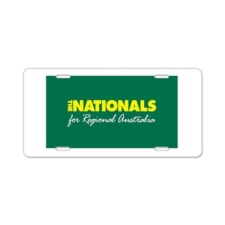 National Party Logo Aluminum License Plate
