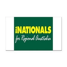 National Party 2013 Rectangle Car Magnet