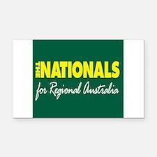 National Party Logo Rectangle Car Magnet