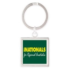 National Party 2013 Square Keychain