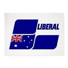 Liberal Party 2013 5'x7'Area Rug
