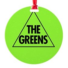 Green Party 2013 Round Ornament