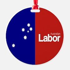 Labor Party Logo Ornament