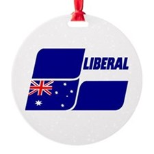 Liberal Party 2013 Round Ornament