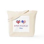British American Boy Tote Bag
