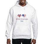 British American Boy Hooded Sweatshirt