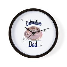 Dalmatian Dad Wall Clock