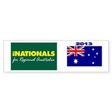 National Party 2013 Car Sticker