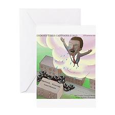 MLK Cries Greeting Card