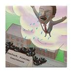 MLK Cries Tile Coaster