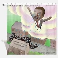 MLK Cries Shower Curtain