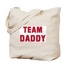 Team Daddy Tote Bag