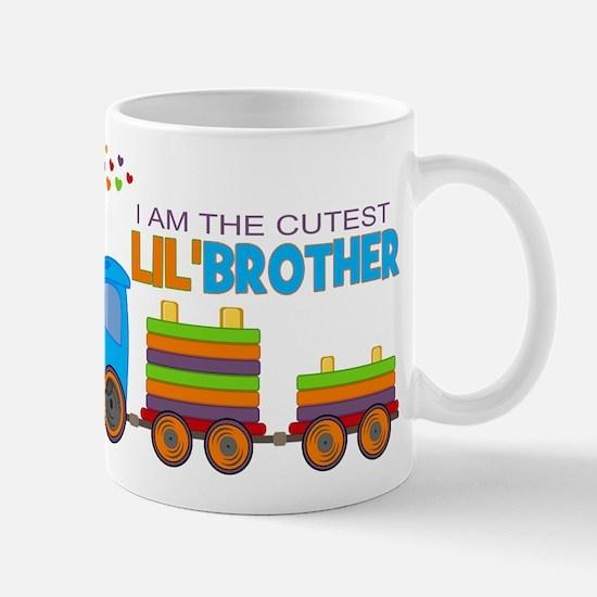 Cutest Lil Brother - Train Mug
