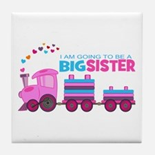 Big Sister - Train Tile Coaster