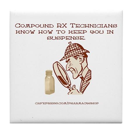 Compound RX Tech Tile Coaster