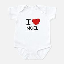 I love noel Infant Bodysuit