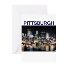 pittsburgh gifts and tee-shir Greeting Cards (Pack