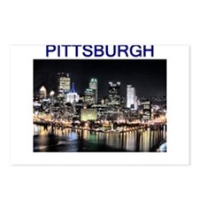 pittsburgh gifts and tee-shir Postcards (Package o