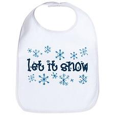 Let it Snow Bib