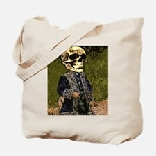 Skull Gal with water can Tote Bag