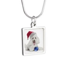 Santa Poodle Necklaces