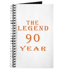 90 year birthday designs Journal