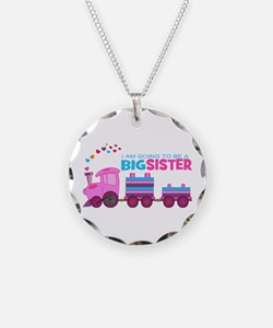 Big Sister - Train Necklace