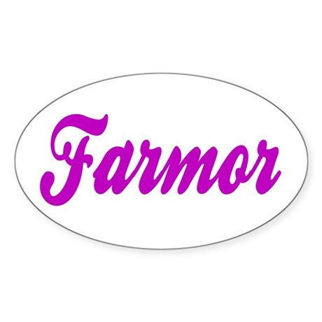 Farmor Vinyl Sticker