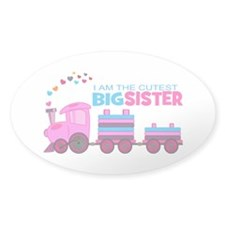 Cutest Big Sister -Train Decal