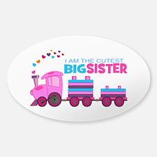 Cutest Big Sister -Train Decal