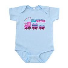 Cutest Big Sister -Train Infant Bodysuit