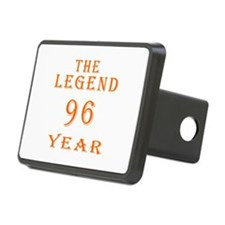 96 year birthday designs Hitch Cover