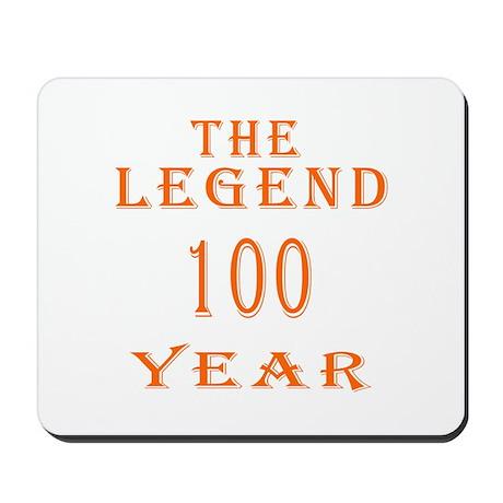 100 year birthday designs Mousepad