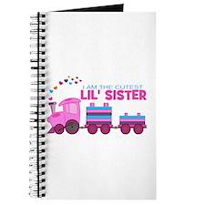Cutest Lil Sister Train Journal