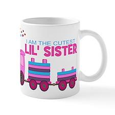 Cutest Lil Sister Train Mug