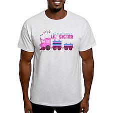 Cutest Lil Sister Train T-Shirt