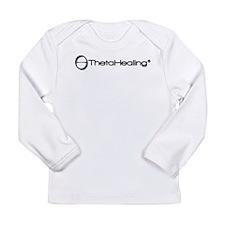 Theta-black-logo Long Sleeve T-Shirt