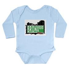 Bronx Blvd Long Sleeve Infant Bodysuit