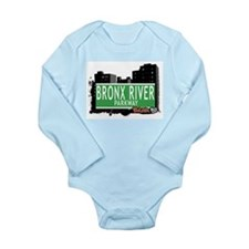 Bronx River Pkwy Long Sleeve Infant Bodysuit