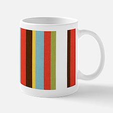 Bold retro colorful stripes Mug